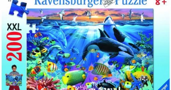 Oceanic Life 200 Piece Puzzle By Ravensburger 9 63