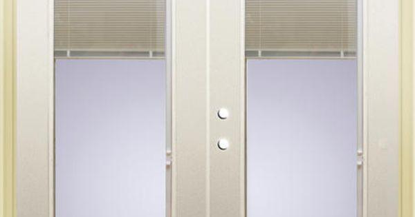 Mastercraft Low E 72 X 80 Steel French Patio Door W Mini Blinds