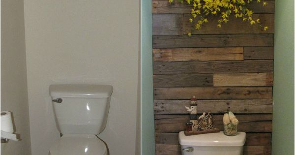 Mandy Jean Chic: DIY Pallet Wall. Love this look for an accent