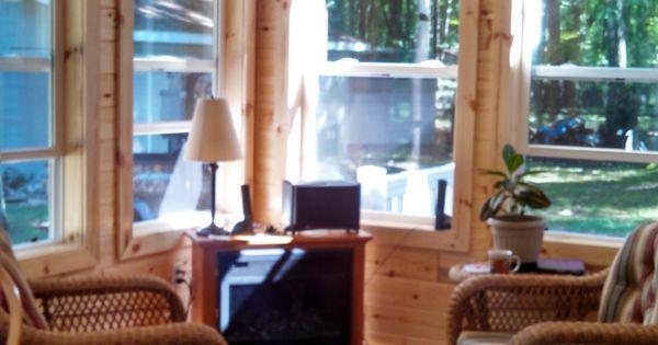 Knotty Pine Sunroom Home Project Pinterest Knotty
