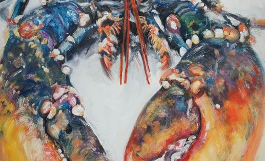 Lobster , Painting by Michelle Parsons | Artfinder ...