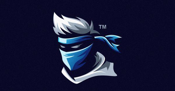Ninja Sports Logo Design Game Logo Design Logo Design Creative