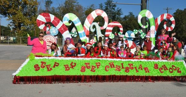 Candy Canes Christmas Parade Float … | Pinterest