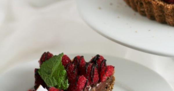 Chocolate pies, Desserts and Raspberries on Pinterest