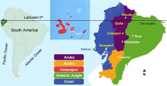 Los Climas En El Ecuador Chile Post Ecuador Clima Clases De Climas