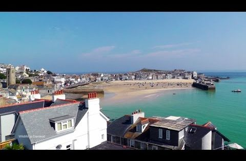 St Ives In Cornwall One Hour Of Beautiful Relaxation Video And Sounds In Hd Youtube Relaxing Gif Cornwall St Ives