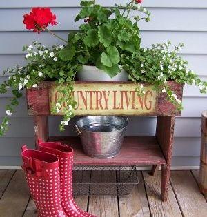 Jakie Kwiaty Posadzic W Maju By Kwitly Do Poznej Jesieni Czyli Kwiaty Na Balkon I Taras Najdluzej Kwitnace D Front Porch Decorating Red Geraniums Porch Decorating