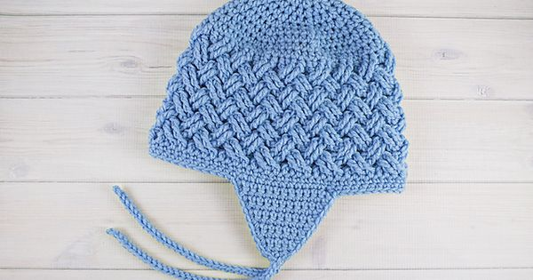 Knitting Patterns Hats With Ear Flaps Free : [Free Pattern] This Hat With Ear Flaps Is Insanely Cute! - Knit And Crochet D...