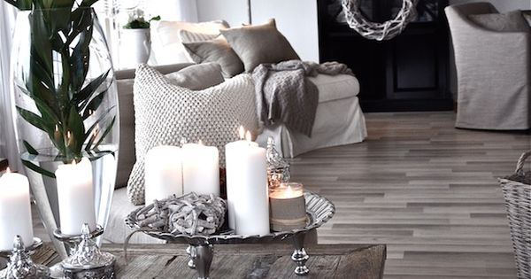 ۩ Best Rooms Ever: I adore all the greyish tones and driftwood