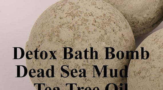 detox bath bomb made with dead sea mud and by pinkparchmentsoaps badebomben selber machen. Black Bedroom Furniture Sets. Home Design Ideas