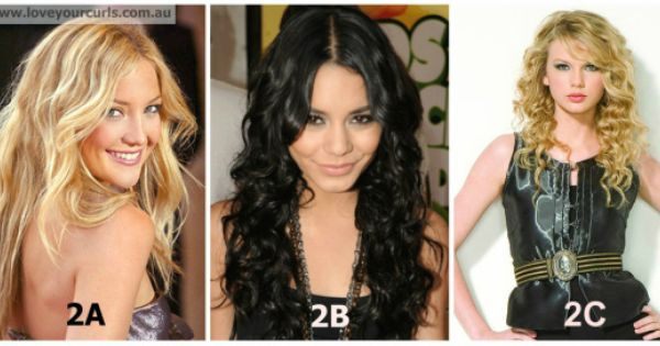 Wavy Hair Type 2 With Images Curly Hair Styles Curly Hair