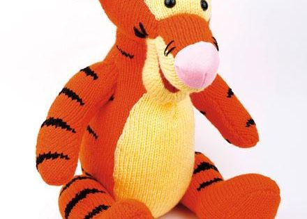 Knitting Patterns For Disney Toys : Cuddle Tigger - Knitted Toy Kit Knit it! Pinterest Toys, Knits and How ...