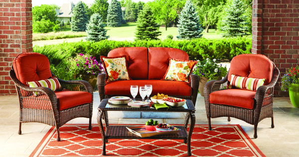 Better homes and gardens azalea ridge 4 piece patio for Better homes and gardens azalea ridge chaise lounge