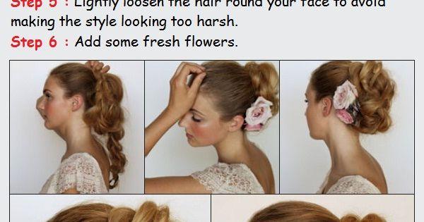 Style a Messy Braided Bun Tutorials