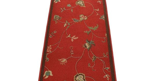 Acheson Floral Red Area Rug In 2020 Red Floral Area Rug Floral Area Rugs Red Rugs