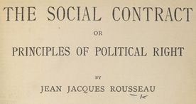 In The Social Contract 1762 Rousseau Argues That Laws Are
