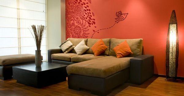 Decoracion de paredes de cuartos si quieres salir de lo for Decoracion de living room