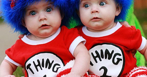 Lol, so cute! dr seuss baby costumes