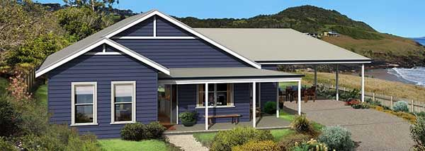 The Yarra Facade Paal Kit Homes Offer Easy To Build Steel Frame Kit Homes For The Owner Builder And Have Di Kit Homes Modern Farmhouse Floorplan House Prices