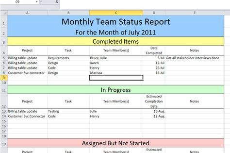 Get Project Status Report Template Excel U2013 ExcelTemple Chetna   It  Project Business Case Template  It Project Business Case Template