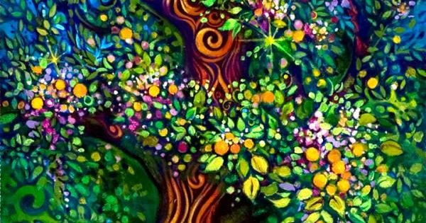 The Tree of Life by artist Laura Zollar by yesenia. life tree