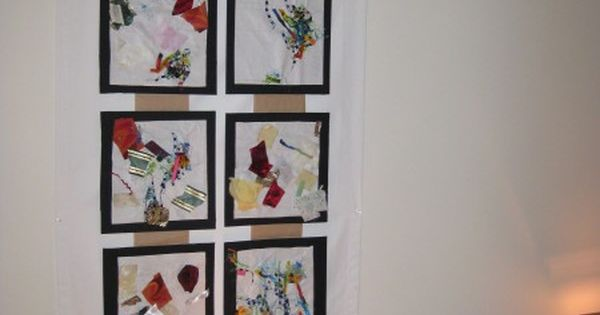 Collaborative Classroom Examples ~ Collaborative collages examples reggio inspired
