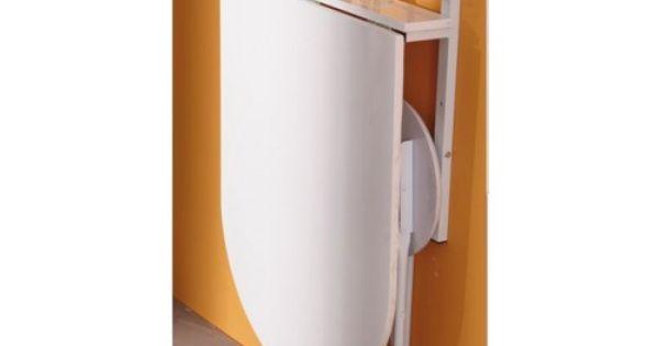 Compacte Opklaptafel Voor De Keuken Met 2 Krukjes My