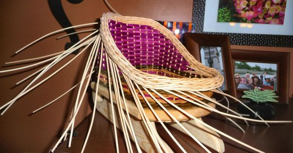 Learned How To Weave The Gretchen Border Baskets I Ve