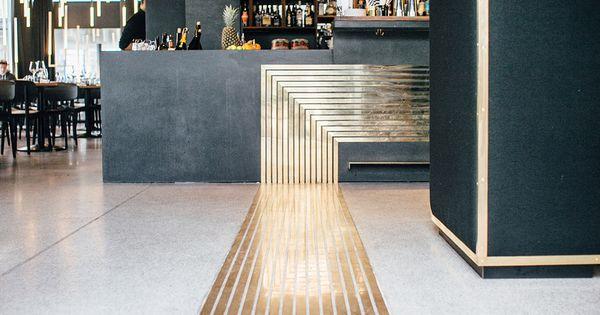 herzog bar restaurant m nchen by build inc architects via design binge reception. Black Bedroom Furniture Sets. Home Design Ideas