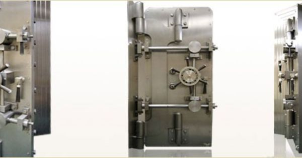 Antique Vault Doors For Sale Exclusively From Brown Safe Mfg