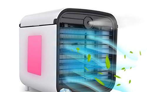 Mobile Klimaanlage Klein Hisome 4 In 1 Klimagerate Ventilator Luftbefeuchter Luftreiniger Aroma Diy Air Conditioner Portable Air Cooler Small Air Conditioning