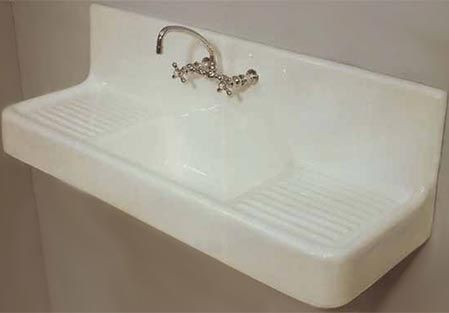 Vintage Farmhouse Drainboard Sinks Drainboard Sink Sink Farmhouse Sink Kitchen