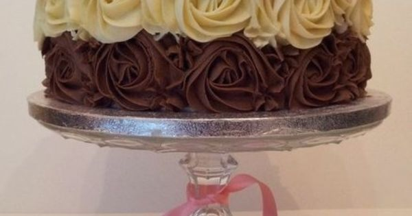 Rose Swirl Cake Frosting Technique | Cakes | Pinterest | Frosting ...