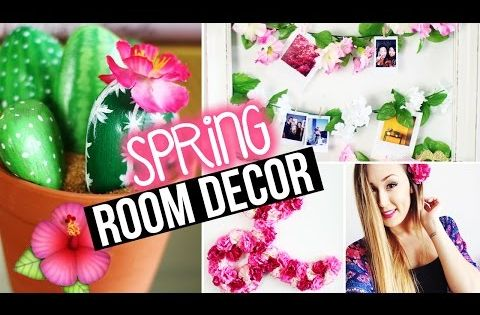 Diy spring room decor wall decor tumblr inspired for Room decor laurdiy