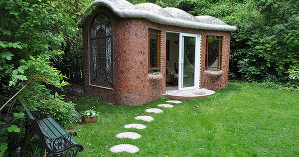 A Gaudi Inspired Sparkly Art Nouveau Summer House Summer House Shed Of The Year Backyard House