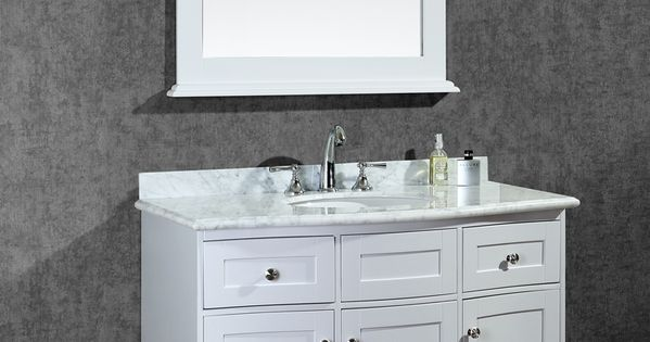 Ariel Montauk 42 Quot Single Sink Bathroom Vanity Set With