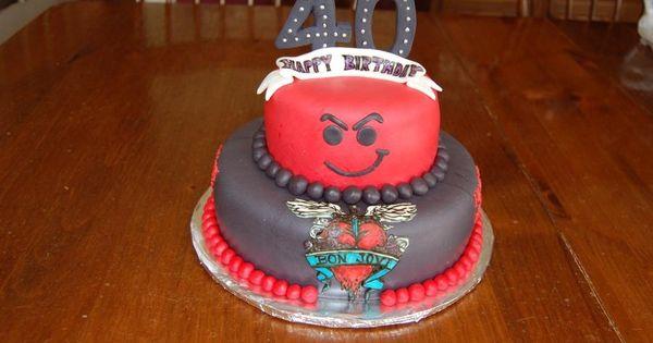 Bret Michaels Birthday Cake