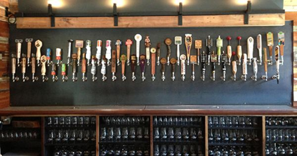 Craft Pride Tap Wall Craft Beer Bar Beer Wall
