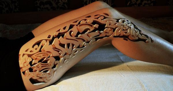Wow! Here's a collection of Insanely good 3dtattoos tattoos Check out this