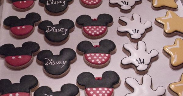 Sooieets Disney Sugar Cookies