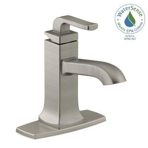 Kohler Rubicon Single Hole Handle Bathroom Faucet In