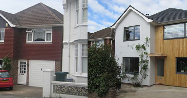 Before And After House Exteriors Uk