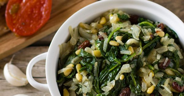 Spinach, Tapas recipes and Style on Pinterest