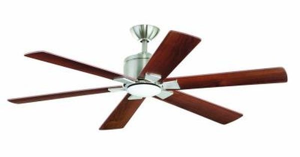 Home Decorators Collection Renwick 54 In Brushed Nickel Ceiling Fan Ceiling Fan