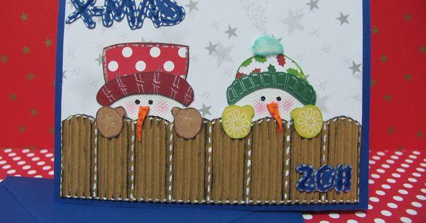 Tarjetas navide as creativas buscar con google - Buscar manualidades de navidad ...