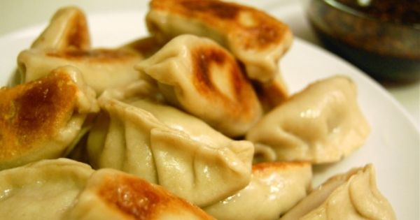 Homemade potstickers. Mmm sounds yummy!