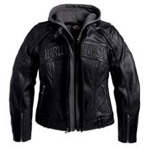 Women S Reflective Skull 3 In 1 Leather Jacket Motorclothes Merchandise Harley Davidson Usa Harley Davidson Leather Jackets Leather Jacket Jackets