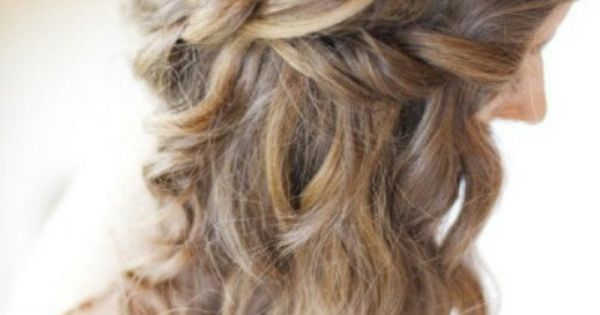 #HalfUp HalfDown Hair Hairstyle Curly Braid LongHair