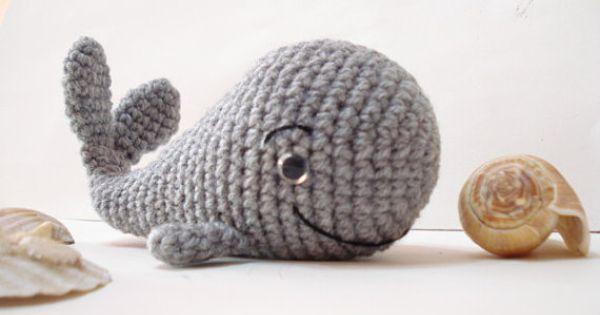 Big Whale Amigurumi : PDF Crochet Pattern, Whale Pattern, Crochet Tutorial ...