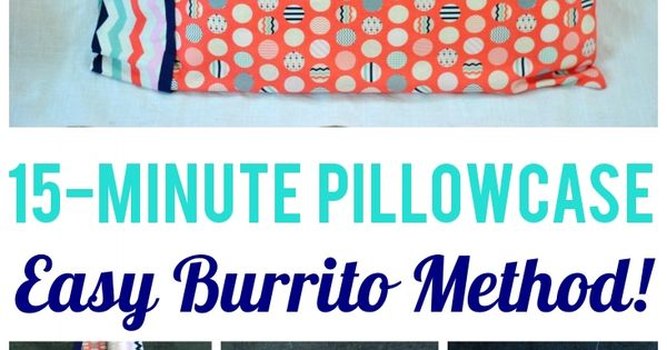 Standard Pillowcase Pattern For Sewing